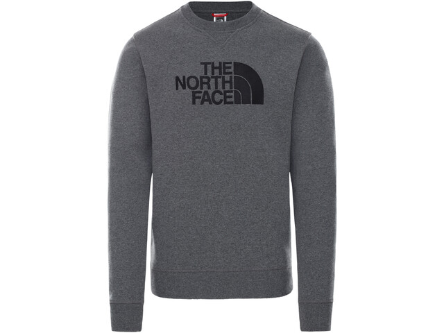 The North Face Drew Peak Crew Pullover Men TNF medium grey heather/TNF black